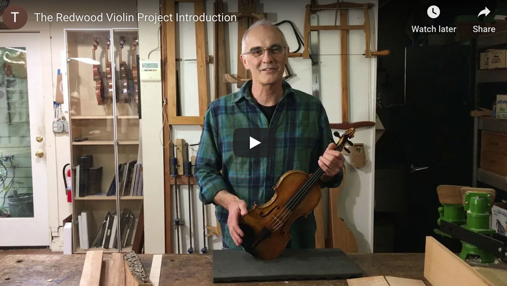 The Redwood Violin  Project